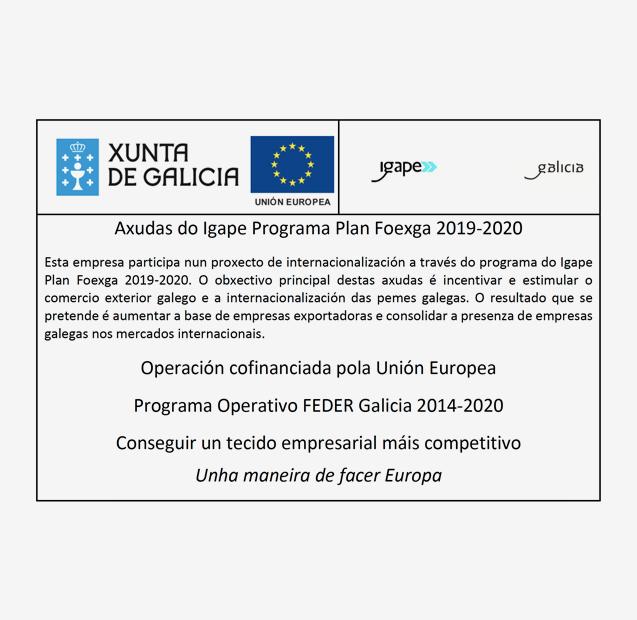 AYUDAS DEL IGAPE PROGRAMA PLAN FOEXGA 2019- 2020